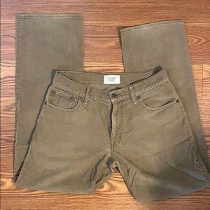 Old Navy corduroy khaki pants. 30x32